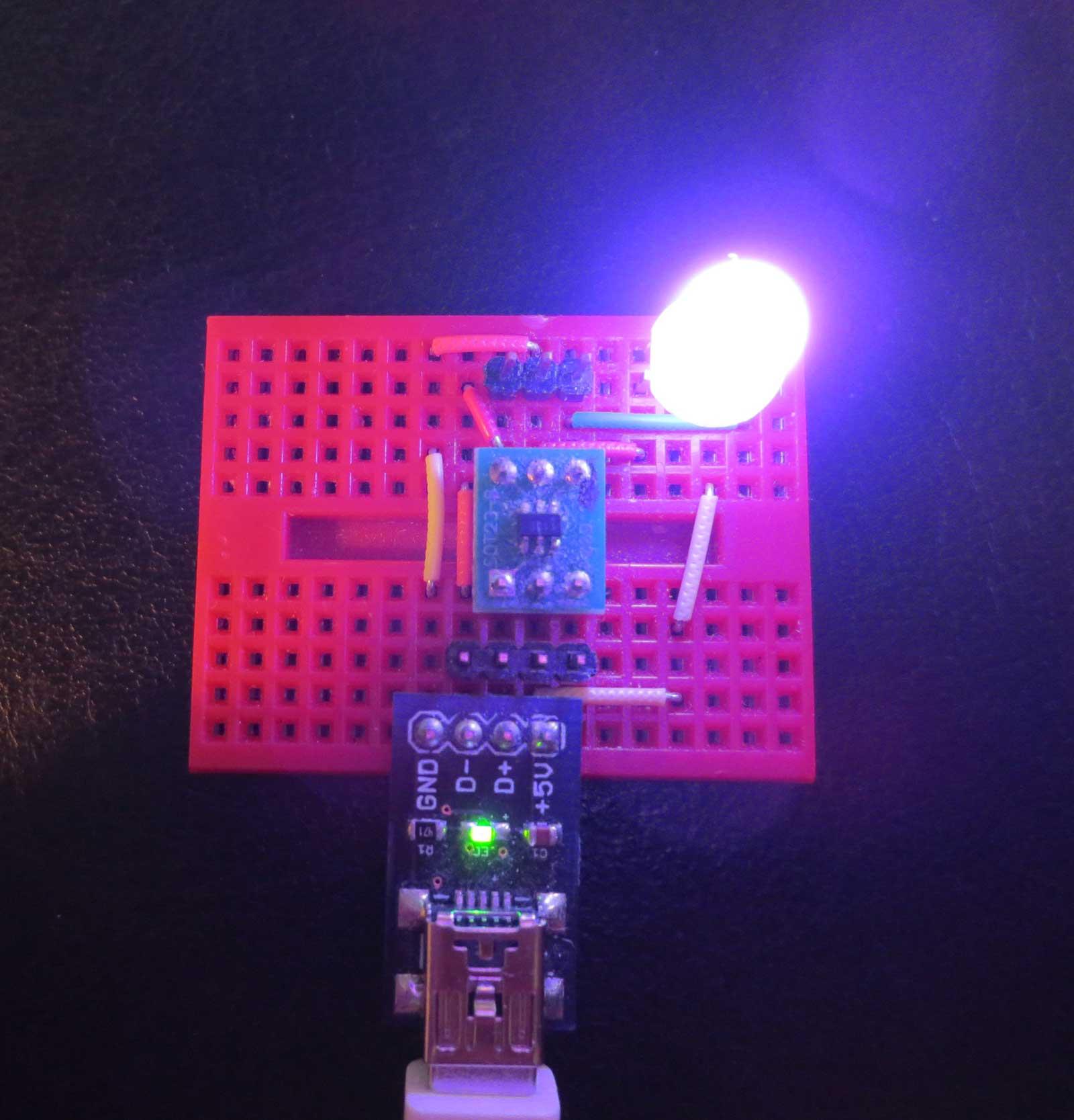 µ-Wire – USB on an ATtiny 10 – Tim's Blog